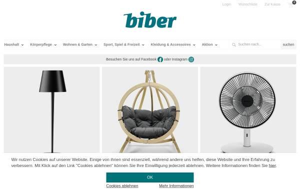 19b0994074feda Biber Umweltprodukte Versand GmbH  Naturprodukte