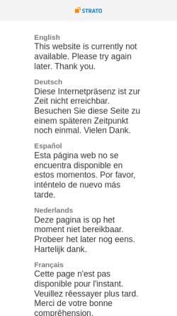 Vorschau der mobilen Webseite www.elfenbein-entertainment.de, Elfenbein Entertainment