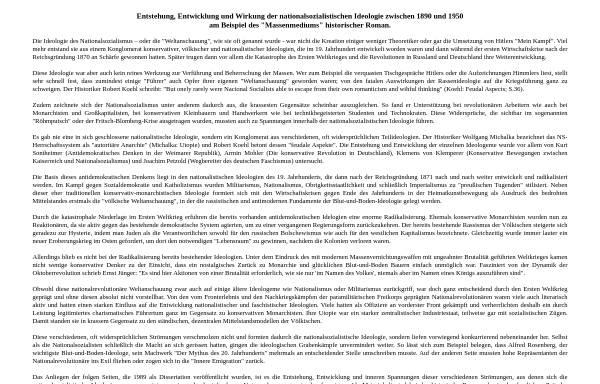 Vorschau von www.westfr.de, Entstehung und Wirkung der NS-Ideologie im historischen Roman