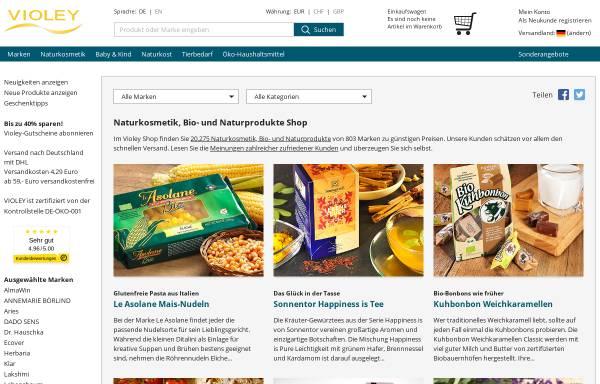 Vorschau von www.violey.com, Violey GmbH