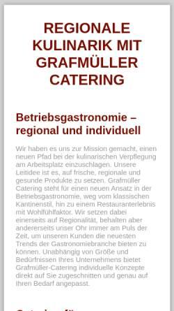 Vorschau der mobilen Webseite www.grafmueller-ccv.de, Grafmüller CCV