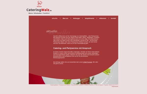Vorschau von www.partyservice-info.de, Metzgerei und Partyservice Hans Steinhauser