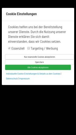 Vorschau der mobilen Webseite www.injoy-berlin.de, INJOY Berlin