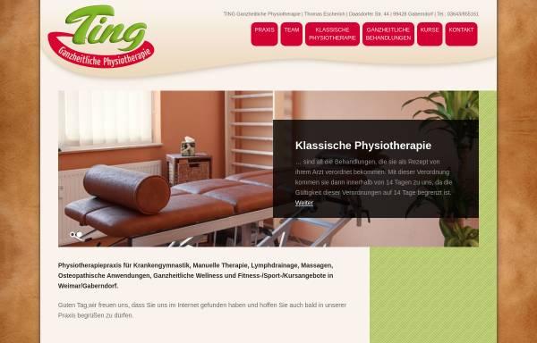 Vorschau von www.physio-ting.de, Ting