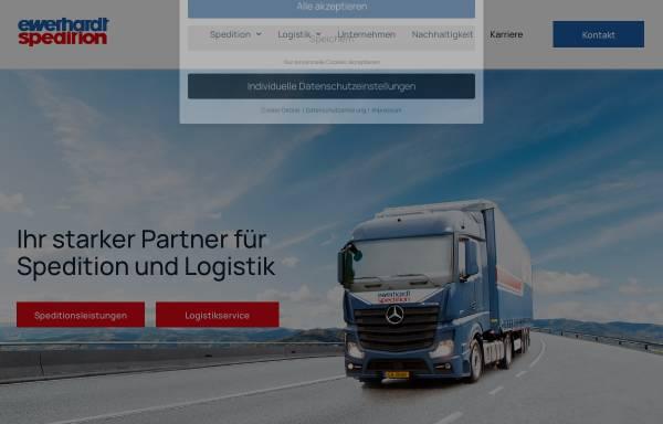 Vorschau von www.ewerhardt.org, Ewerhardt Logistik und Spedition