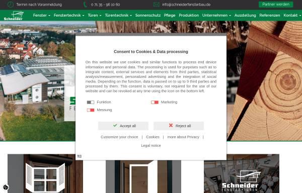 Fensterbauer Düsseldorf fensterbau schneider gmbh in güglingen holz fenster und türen