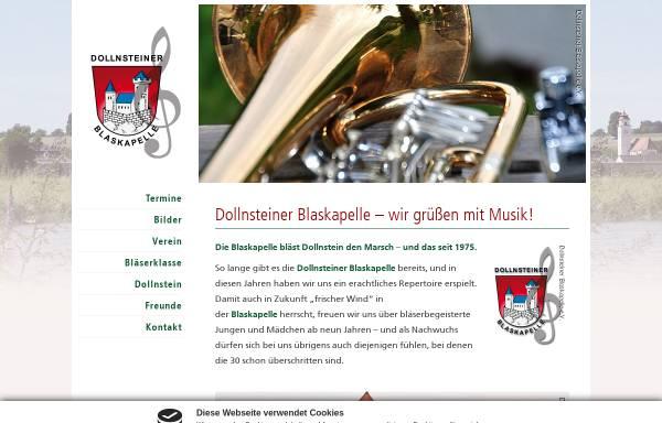Vorschau von www.blaskapelle-dollnstein.de, Dollnsteiner Blaskapelle