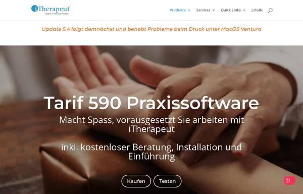 Vorschau von www.itherapeut.ch, iThearpeut - Praxissoftware