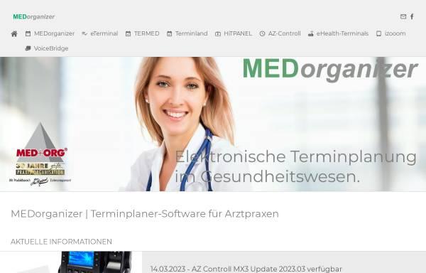Vorschau von www.medorganizer.de, MED+ORG Alexander Reichert GmbH