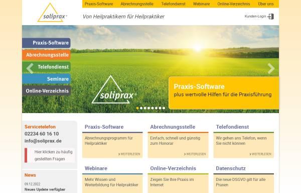 Vorschau von www.soliprax.de, SoliPrax e.K.