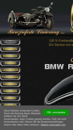 Vorschau der mobilen Webseite www.adler-oldtimer.de, Michaels Adler Seite