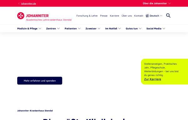 Vorschau von www.johanniter.de, Johanniter Krankenhaus Stendal