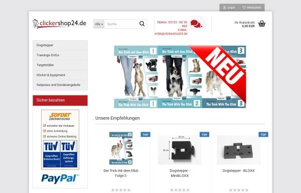 Vorschau von www.clickershop24.de, Clickershop24, Denise Nardelli