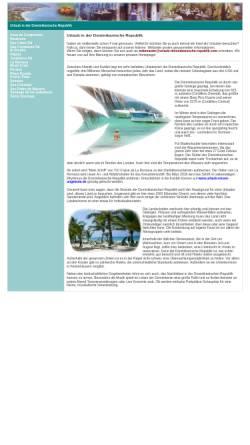 Vorschau der mobilen Webseite www.urlaub-dominikanische-republik.com, Urlaub in der Dominikanischen Republik