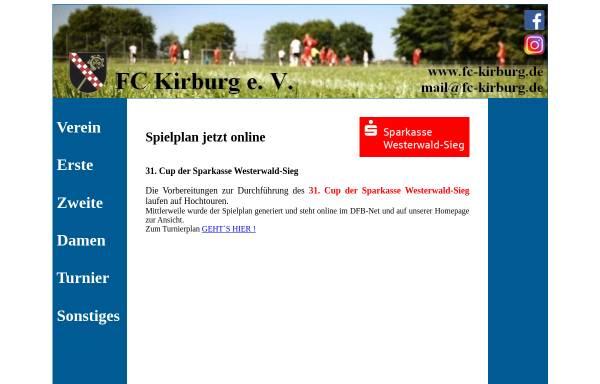Vorschau von www.fc-kirburg.de, 1. FC Kirburg e.V.