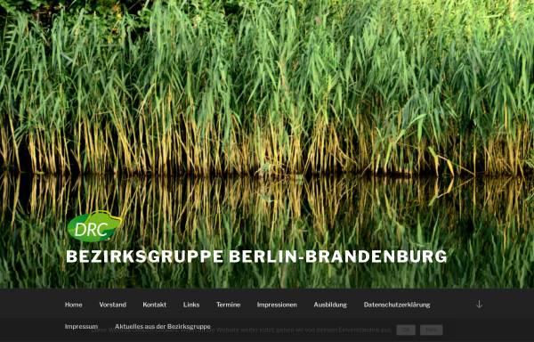 Vorschau von www.drc-bzg-bb.de, Deutscher Retriever Club, Bezirksgruppe Berlin Brandenburg