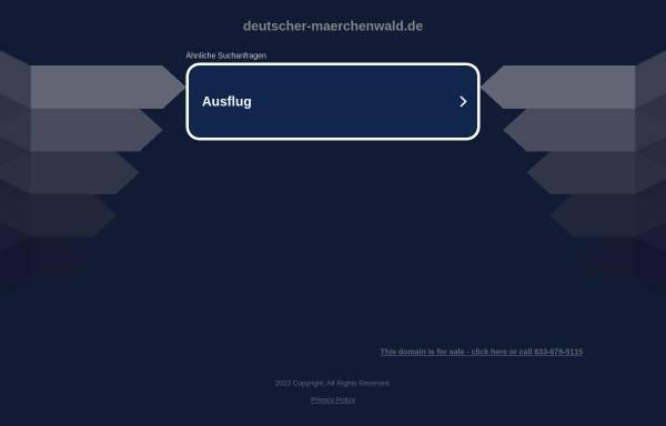 Vorschau von www.deutscher-maerchenwald.de, Freizeitpark Deutscher Märchenwald