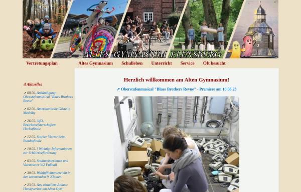Vorschau von www.altesgym.flensburg.de, Altes Gymnasium