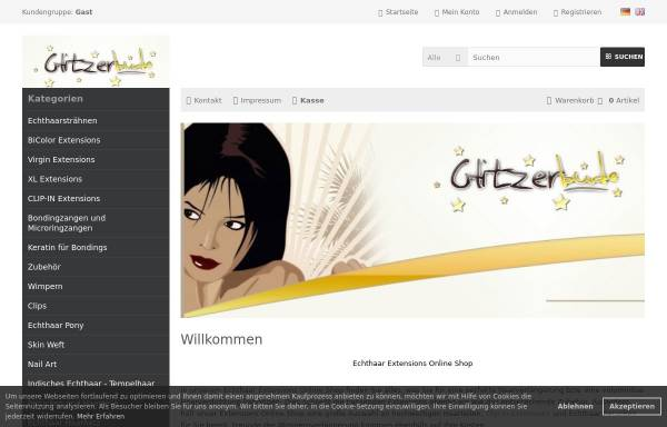 Vorschau von www.my-glitzerbu.de, My-glitzerbu.de, Olga Ostapenko