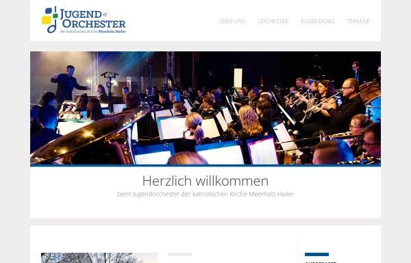 Vorschau von www.jo-meerholz-hailer.de, Jugendorchester der katholischen Kirche Meerholz-Hailer