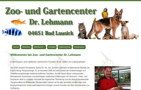 Vorschau von www.zoo-garten-erlebnis.de, Zoo- und Gartencenter Dr. Joachim Lehmann