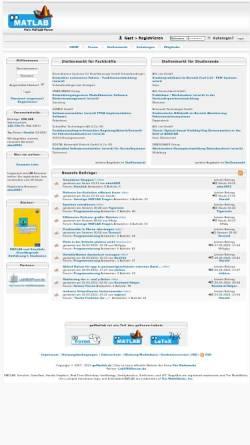 Vorschau der mobilen Webseite www.gomatlab.de, GoMatlab