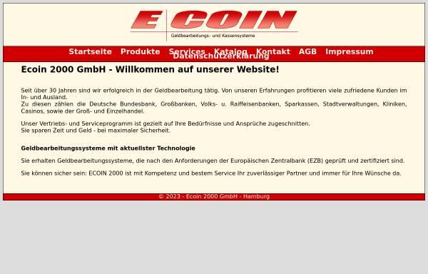 Vorschau von www.ecoin2000.de, Ecoin 2000 GmbH