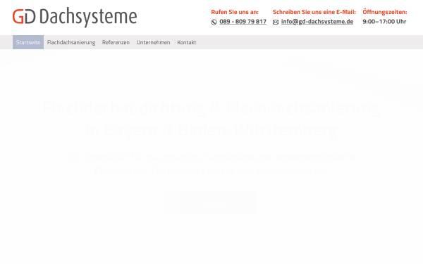 Vorschau von www.gddachsysteme.de, Dualsphere Innovative Dachsysteme GmbH