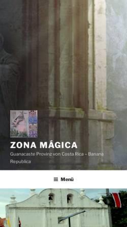 Vorschau der mobilen Webseite www.costa-rica-guanacaste.com, Guanacaste