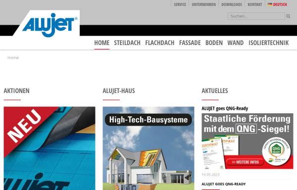 Vorschau von www.alujet-universal.de, Alujet-Universal GmbH