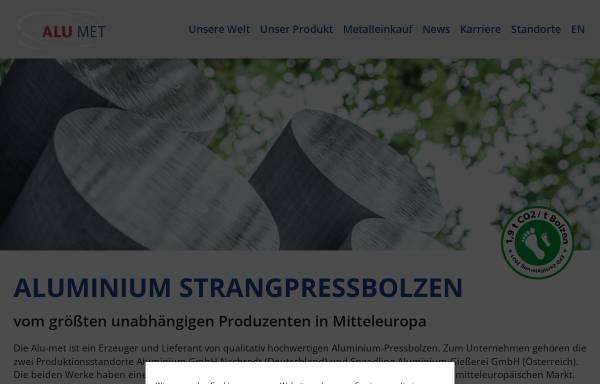 Vorschau von www.alu-met.com, Alu-met Handelsges. m.b.H.
