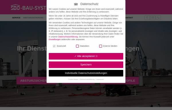 Vorschau von www.sbo-bau-system.de, SBO-Bau-System GmbH