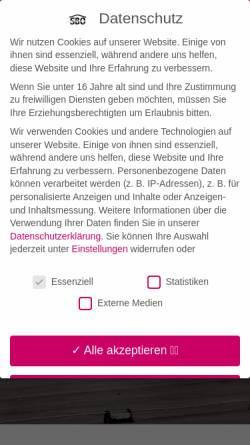 Vorschau der mobilen Webseite www.sbo-bau-system.de, SBO-Bau-System GmbH