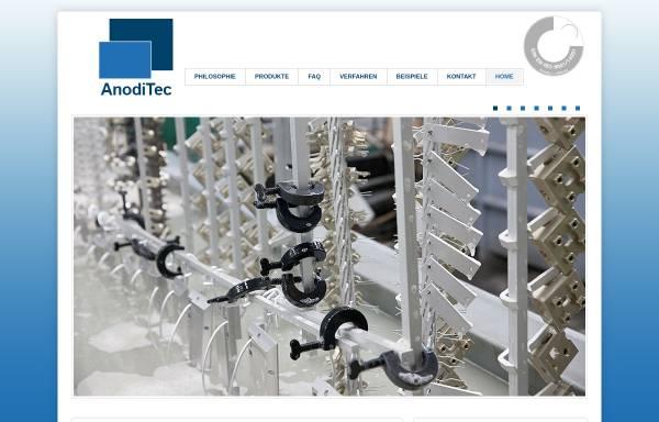 Vorschau von www.anoditec.de, AnodiTec GmbH & Co. KG