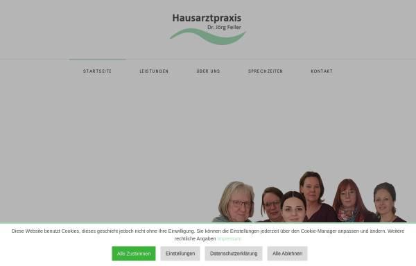 Vorschau von www.hausaerzte-uelzen.de, Gemeinschaftspraxis Dres. med Feiler und Hintze