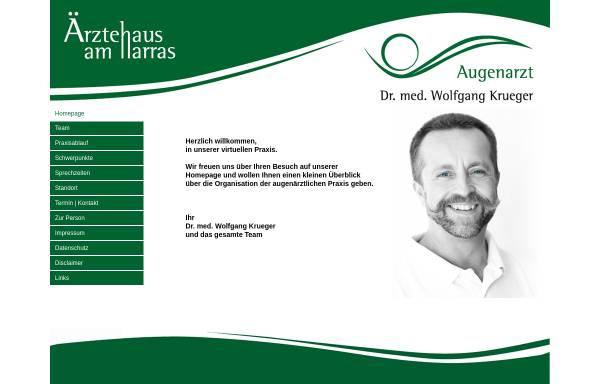 Vorschau von www.augen-aha.de, Dr. med. Wolfgang Krueger