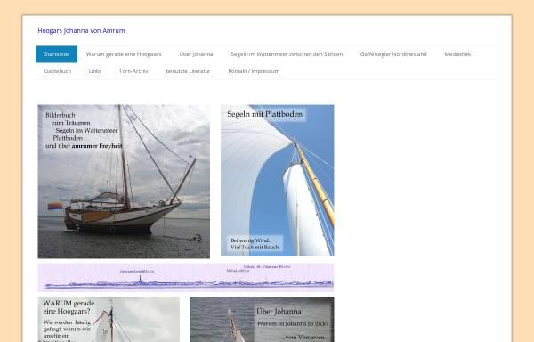 Vorschau von www.johannavonamrum.de, Johanna von Amrum