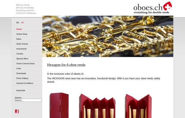 Vorschau von www.oboes.ch, Oboes.ch, Renato Bizzotto
