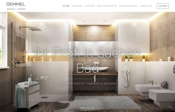 Vorschau von www.demmel-gmbh.de, Demmel GmbH