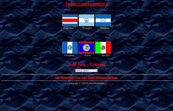 Vorschau von www.travellernet.ch, Trans Centroamerica [Ochsner, Marcel]
