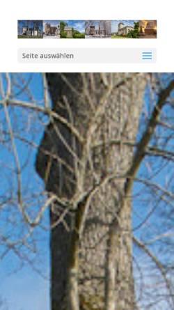 Vorschau der mobilen Webseite diekirche.info, Evangelisches Pfarramt Liebenscheid