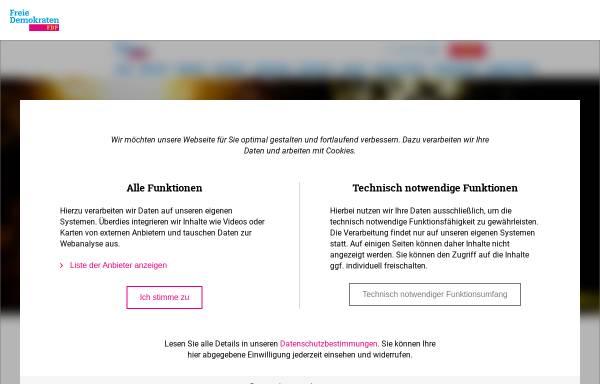 Vorschau von www.fdp-muensterland.de, FDP Bezirksverband Münsterland
