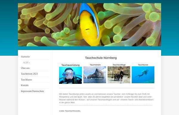 Vorschau von www.dive-unlimited.info, Dive Unlimited, Tauchschule Karl Heinz Fichtner