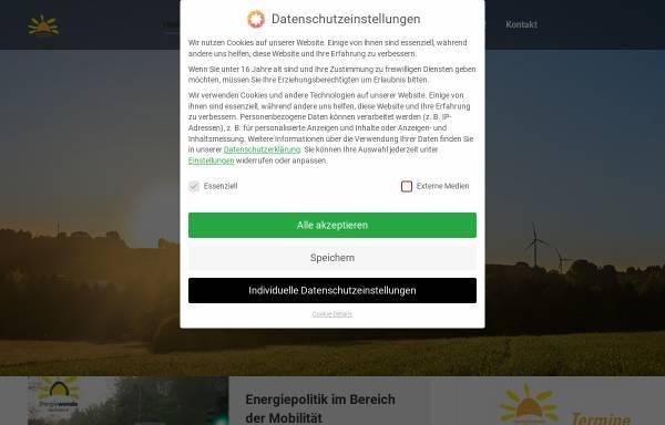 Vorschau von www.energiewende-saarland.de, Energiewende e.V.