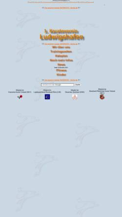 Vorschau der mobilen Webseite www.kvlu.de, 1. Karateverein Ludwighafen e.V.