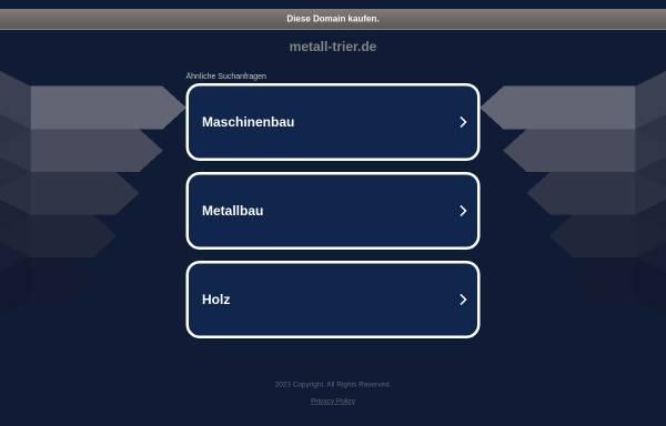 Vorschau von www.metall-trier.de, Innung Metall Trier