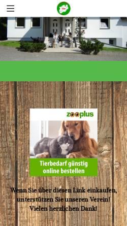 Vorschau der mobilen Webseite www.tierhilfe-nord-west.de, Tierhilfe Nord-West e.V.