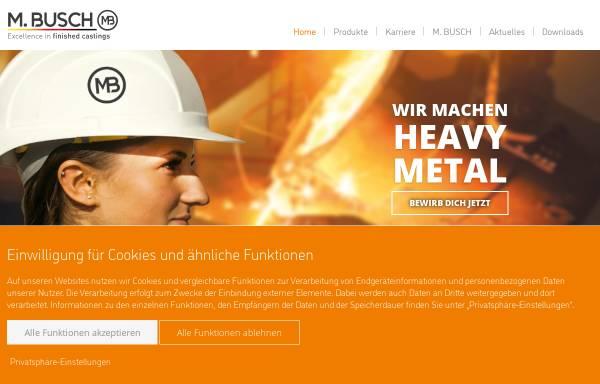 Vorschau von www.m-busch.de, M. Busch GmbH & Co. KG
