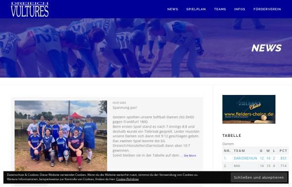 Vorschau von www.vultures.de, Dreieich Vultures