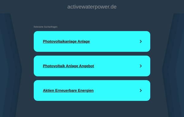 Vorschau von www.activewaterpower.de, Active Water Power GmbH